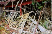 Collapsed Japanese House