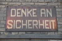 Denke An Sicherheit - Keep Safety In Mind