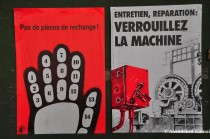 French Industrial Warning Signs
