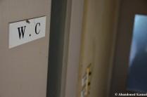 W.C. - A Classic Sign