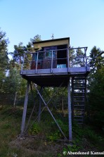 Abandoned Guard Tower, Once To Protect MGM-52 Lance Missiles