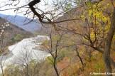 Border River Between North Korea And China