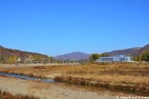 Customs Office Near Hoeryong, North Korea