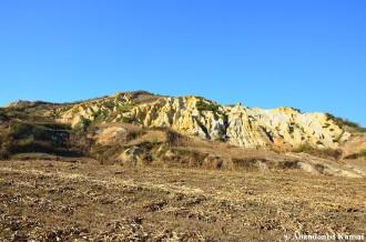 Kaolin Forming Strange Rocks