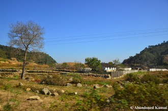 North Korean Farm Houses