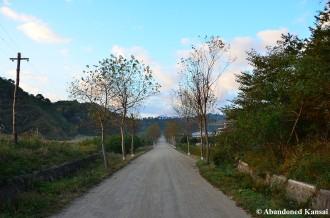 Road Into The Homestay Village, Sea Chilbo, North Korea