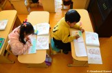 Art Class At A North Korean Kindergarten