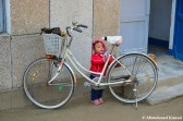 Boy In Bike Jail - No Escape Even At Young Age