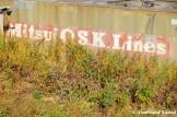 Mitsui O.S.K. Line Container In North Korea