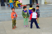 North Korean Boys, Rason, DPRK