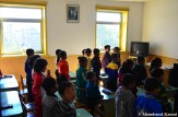 North Korean Children At A Kindergarten