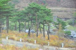 Target Silhouette And Military Base, Rason, North Korea
