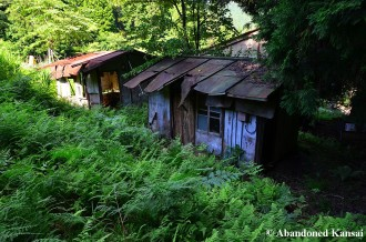 Dilapidated Japanese Shacks