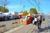 Food Stalls And Ambulances