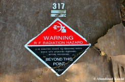 RF Radiation Hazard Sign