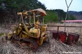 Abandoned Bulldozer D205