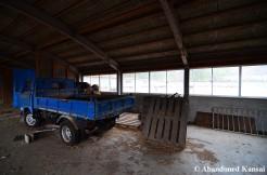 Abandoned Truck, Blue