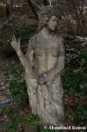 Vandalized Statue