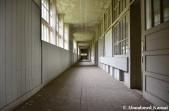 White Wooden Hallway
