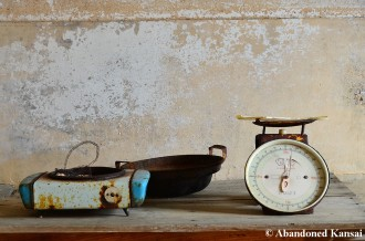 Abandoned Kitchen Utensils