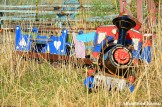 Derailed Mini Train