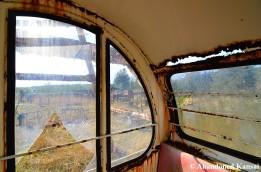 Inside A Ferris Wheel Cabin