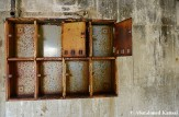 Rusty Mailboxes At The Matsuo Mine Apartments – 4 Floors, 2 Apartments Each