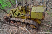 Abandoned Bulldozer