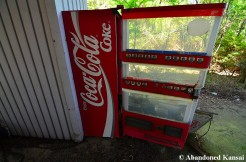 Abandoned Coke Machine