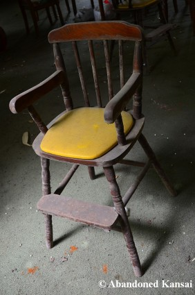 Abandoned High Chair