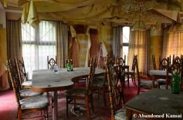 Abandoned Hotel Bar