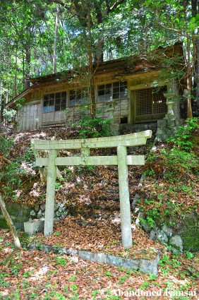 Abandoned Japanese Shrine