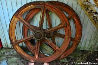 Massive Iron Wheels