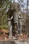 Abandoned Elephant Statue