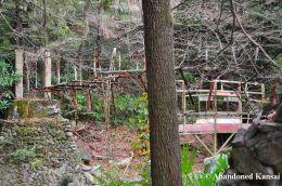 Collapsed Rope Bridge