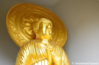 Golden Buddha Closeup
