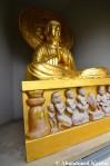 Vandalized Buddha