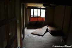 Vandalized Tatami Room