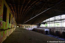 Abandoned Hangar, Inside