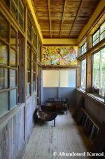 Hallway Of An Abandoned School