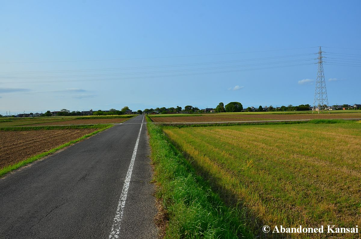 Japanese countryside road kyushu abandoned kansai Usa countryside pictures