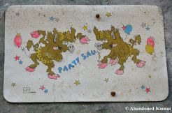Party Animal Placemat - Party Sau