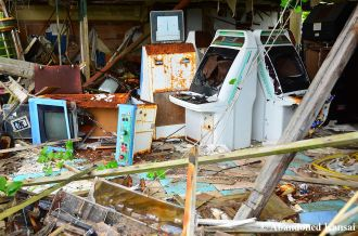 Abandoned Astro City Cabinets