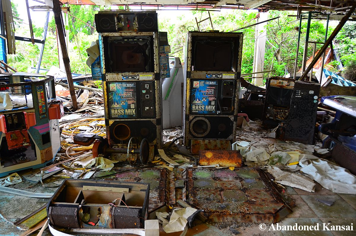 Arcade Machine Hotel Abandoned Kansai