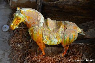 Abandoned Porcelain Horse