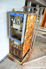 Abandoned Soft Cream Machine