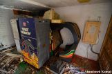 Abandoned Space Invaders Arcade Machine