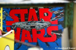 Abandoned Star Wars Pinball Machine