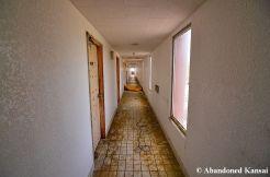 Dirty Hotel Hallway