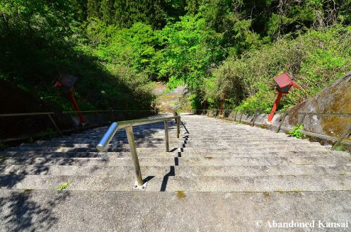 Extremely Steep Stairs